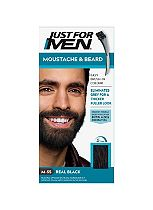 Just For Men Moustache & Beard Brush-In Colour Gel, Black