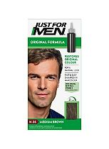 Just For Men Hair Colourant, Natural Medium Brown