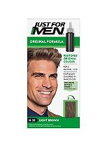 Just For Men Hair Colourant, Natural Light Brown