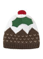 Mini Club Baby Unisex Hat Christmas Pudding