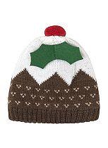 Mini Club Baby Unisex Hat Christmas Pudding
