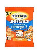 Haliborange Softies Mini Pack - 5 Ruby Orange Softies