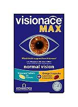 Visionace Max Dual Pack - 28 Visionace Original tablets + 28 Omega-3 DHA & Krill Oil Capsules