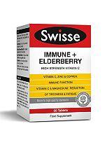 SwisseUltiplus Immune + Elderberry - 60 Tablets