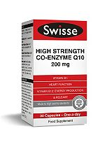 Swisse Ultiplus High Strength Co-Enzyme Q10 200 mg - 30 capsules