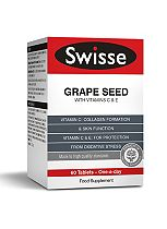 SwisseUltiplus Grape Seed with Vitamins C and E - 60 tablets