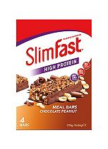 Slim-Fast Meal Bars Chocolate Peanut - 4 bars