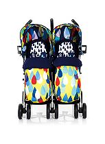 Cosatto To & Fro Duo Double Stroller Pitter Patter