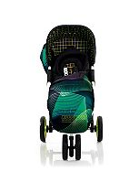 Koochi Pushmatic Green Hyperwave Stroller