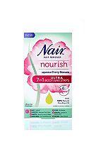 Nair Nourish Japanese Cherry Blossom 7 In 1 Ultra Body Wax Strips 20s