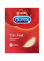 Durex Condoms Thin Feel - 20 condoms