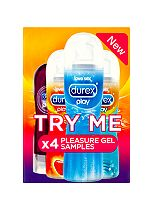 Durex Try Me x4 Pleasure Gel Samples