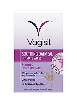 Vagisil Itch Relief intimate wipes - 12 pack