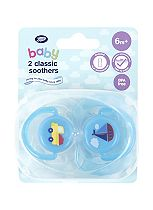 Boots Baby Classic Soothers 6-18 months - Blue