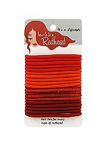 How to be a Redhead redhead hair ties