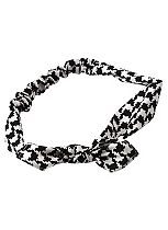 Scunci Style dogtooth headwrap