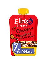 Ella's Kitchen Oodles of Fun Chicken + Noodles with Red Peppers from 7 Months 130g