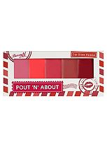 Barry M Pout and About lip gloss palette 8g