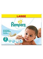 Pampers New Baby Sensitive Size 2 Large Pack 60 Nappies