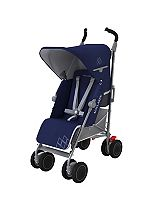 Maclaren Techno XT Stroller - Medieval Blue/Silver