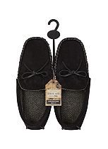 Threads Suedette Moccasin Slippers