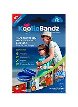 Koolio Bandz Boys Blue Twin Pack Ages 6-10