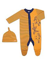 Mini Club Baby Unisex All In One and Hat Tigger