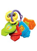 Fisher Price Shapes And Colours Keys