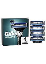 Gillette MACH3 Men's Razor Blades 4 Pack