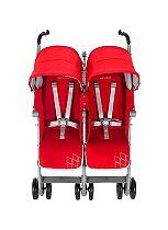Maclaren Twin Techno Stroller - Cardinal