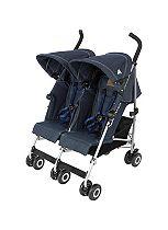 Maclaren Twin Triumph Stroller - Denim Indigo