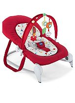 Chicco Hoopla Bouncer - Red