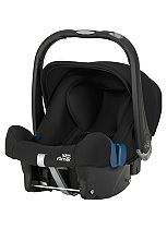 Britax Romer Baby-Safe Plus SHR II Group 0+ Car Seat - Cosmos Black