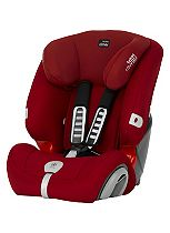 Britax Romer Evolva 123 Plus Group 123 Car Seat - Flame Red