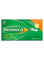 Berocca Orange Effervescent 30 tablets