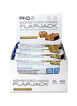 PhD Advanced Mass Flapjack Chocolate Peanut 12 x 120g