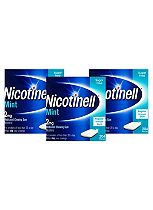 Nicotinell Mint Medicated Chewing Gum 2mg - 612 Pieces
