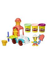 Play Doh ice cream truck