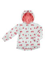 Mini Club Girls Mac Coat Strawberry