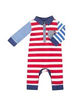 Mini Club Baby Boys All In One Polo Stripe