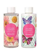 Accessorize Lychee Sorbet Bathing Duo
