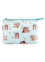 Sass & Belle Retro Kitten Makeup Bag