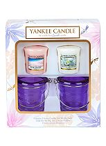 Yankee Summer Gift 2 Votive and Buckets Set