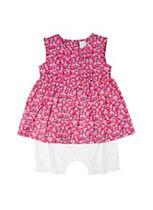 Mini Club Baby Girls Integrated Romper Pink