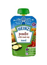 Heinz 10+ Months Paella with Med Veg Meal 180g