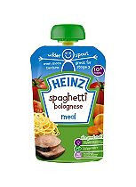 Heinz 10+ Months Spaghetti Bolognese Meal 180g
