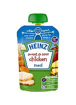 Heinz 10+ Months Sweet & Sour Chicken Meal 180g