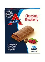 Atkins Chocolate Raspberry Multi Pack 5 x 30g