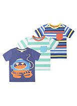Mini Club Boys T-shirts 3 Pack