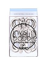 Invisibobble nano clear hair band 3 pack